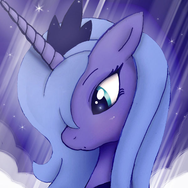 ...MLP FIM Luna icon 2... by Joakaha