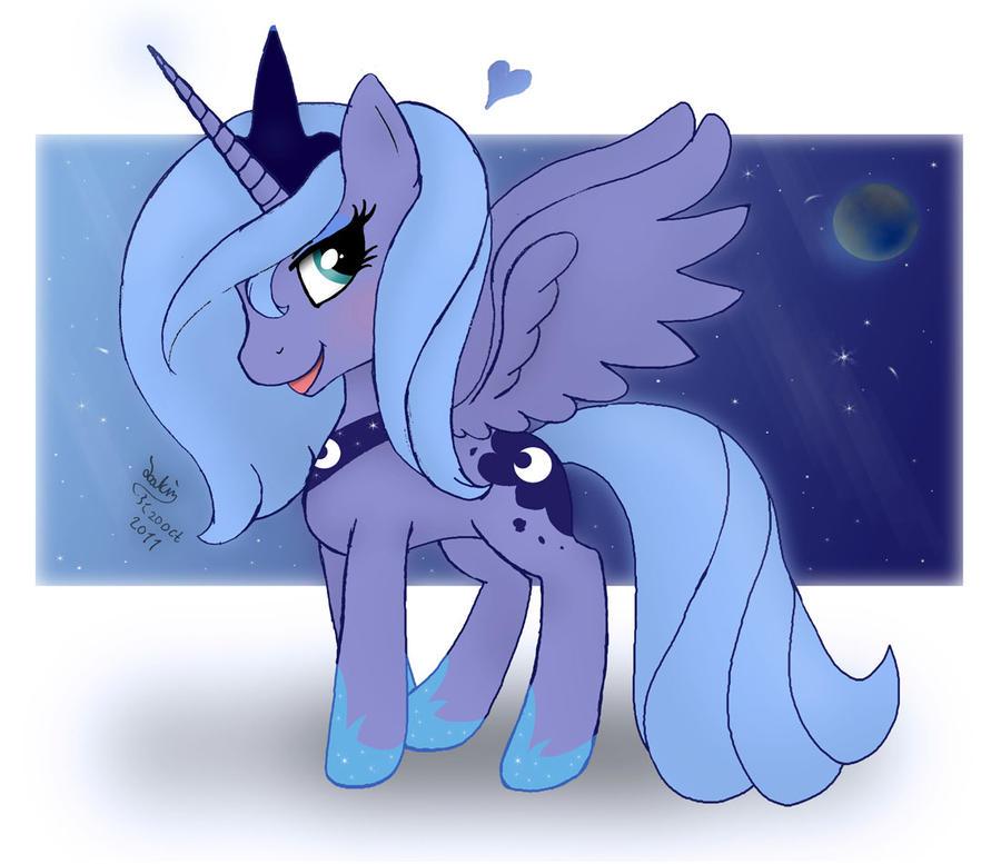 Random MLP FiM Princess Luna 2 by Joakaha