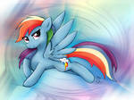 Rainbow Dash colours
