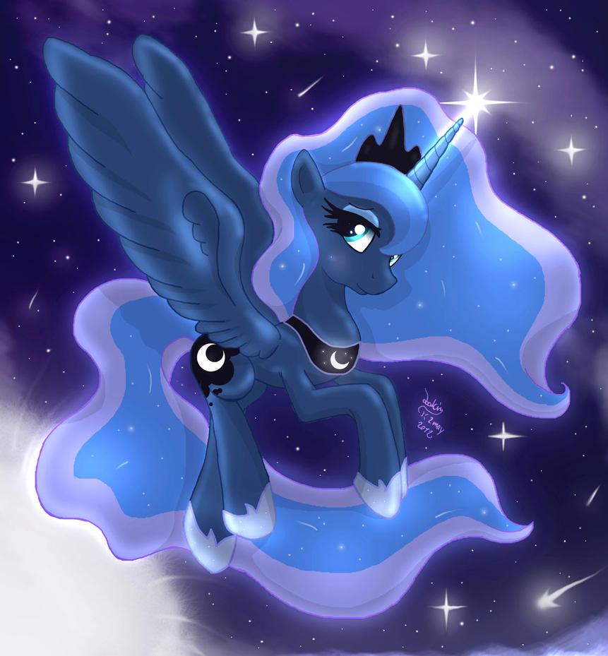 MLP FIM - Princess Luna 7 by Joakaha