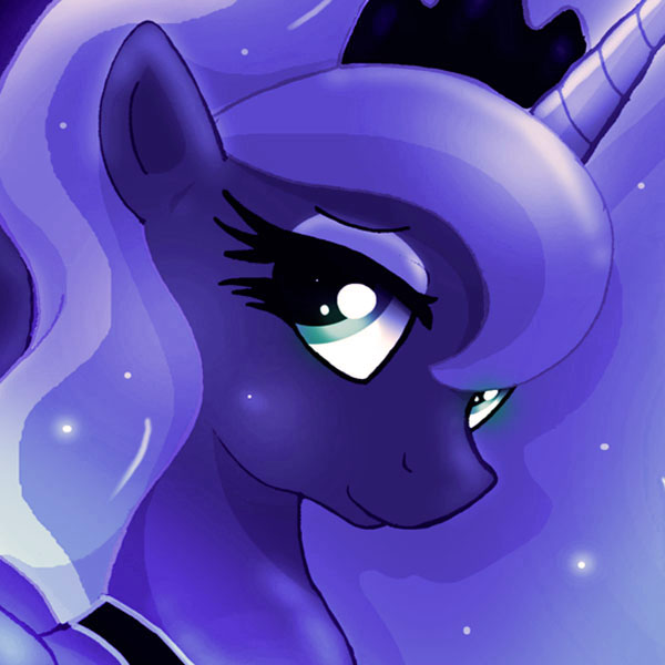 ...MLP FIM Luna icon 7... by Joakaha