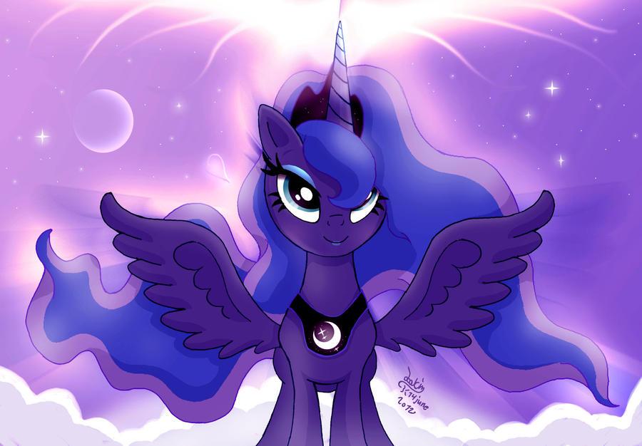 MLP FIM - Princess Luna 9 verision 2 by Joakaha