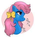 My little pony G1 Bow Tie