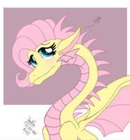 MLP FIM - Dragonshy by Joakaha