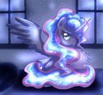 MLP FIM - Glowing Princess Luna