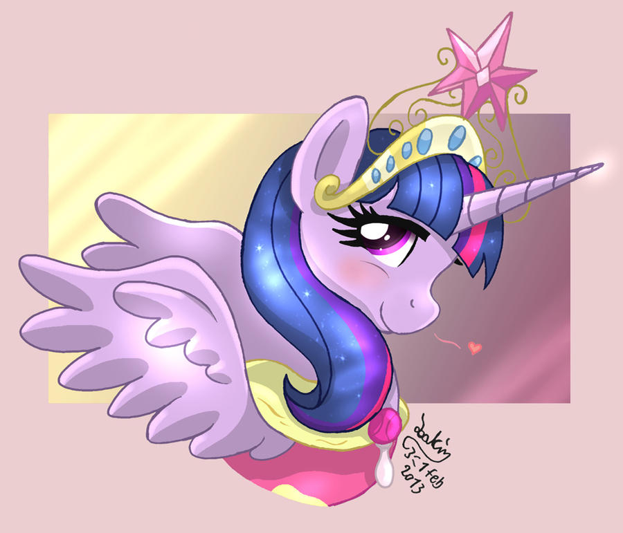MLP FIM - Princess Twilight Sparkle by Joakaha