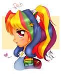 MLP FIM - Human Rainbow Dash