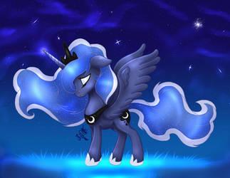 MLP FIM - Princess Luna 12 by Joakaha