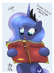 MLP FIM - Princess Luna Want To Learn More Magic