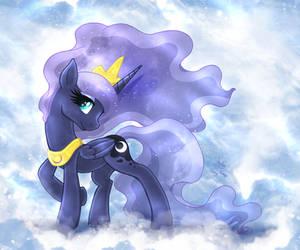 MLP FIM - Princess Luna In Heaven