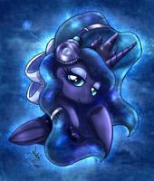 MLP FIM - Princess Luna Love Her Magical Music by Joakaha
