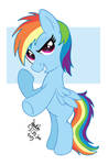 MLP FIM - Filly Rainbow Dash