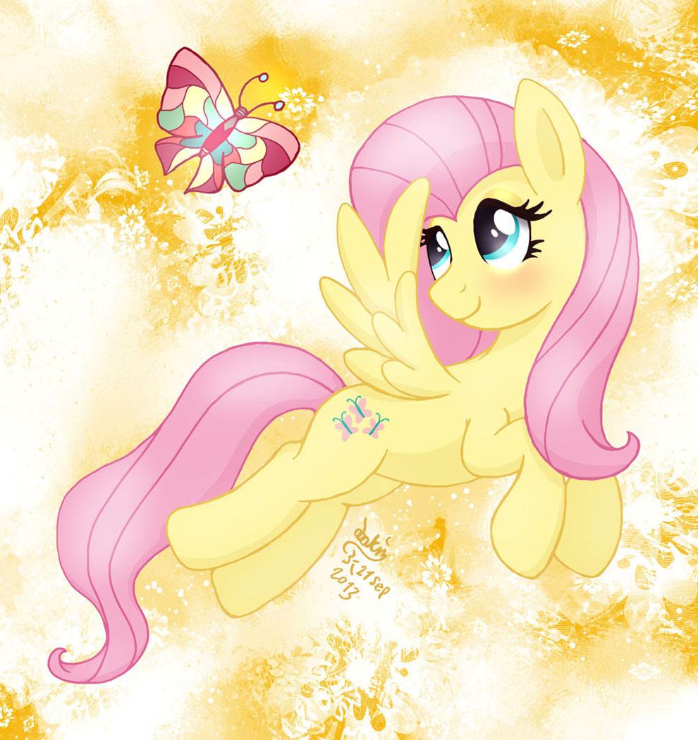 MLP FIM - Fluttershy's Magic Butterfly