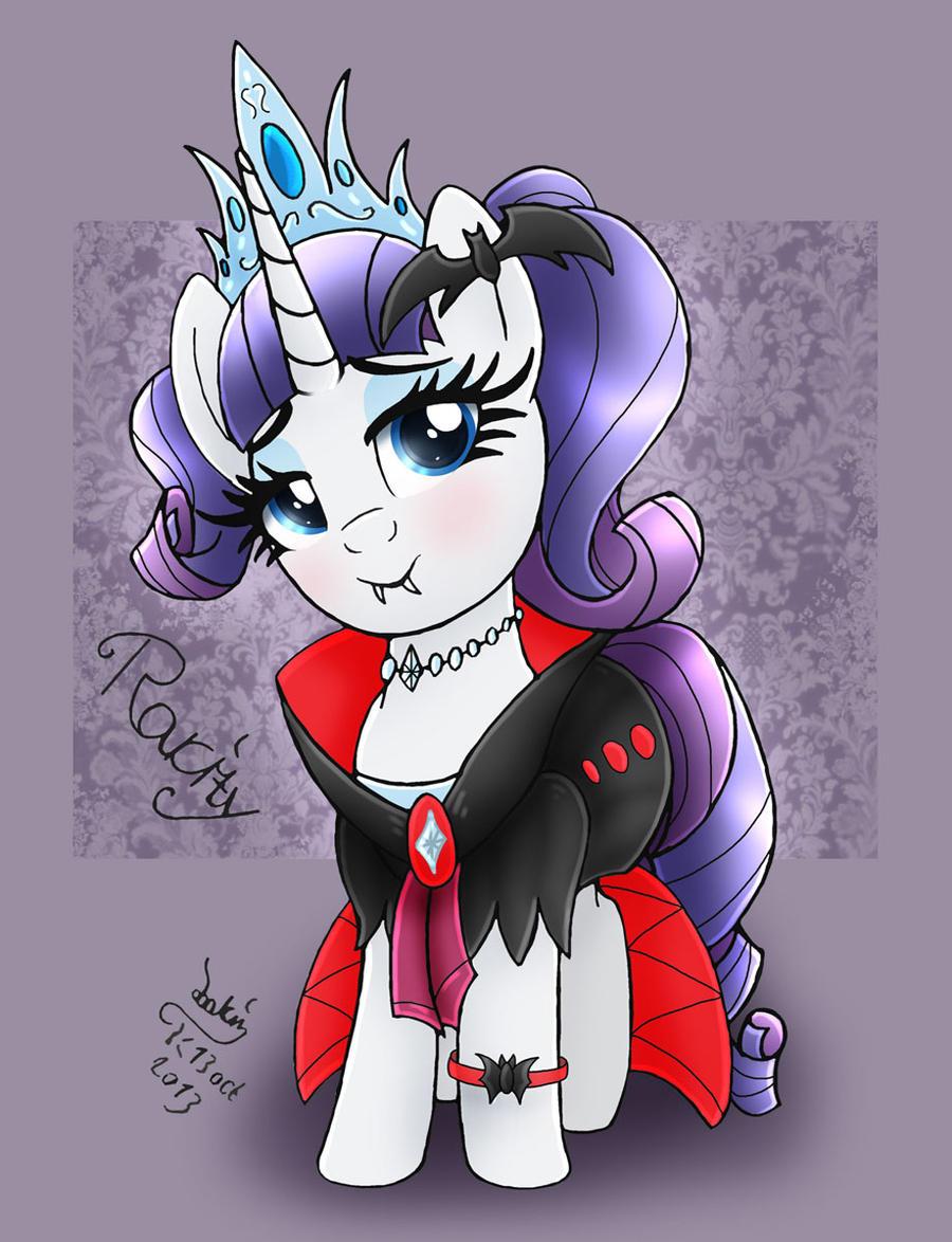 mlp_fim___halloween_queen_rarity_outfit_