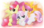 MLP FIM - Cutie Mark Crusaders Group Picture