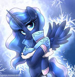 MLP FIM - Princess Luna In The Cold