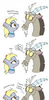 MLP FIM comic - Discord's Fail Spell Part 2