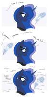 MLP FIM comic - Discord Annoy Princess Luna