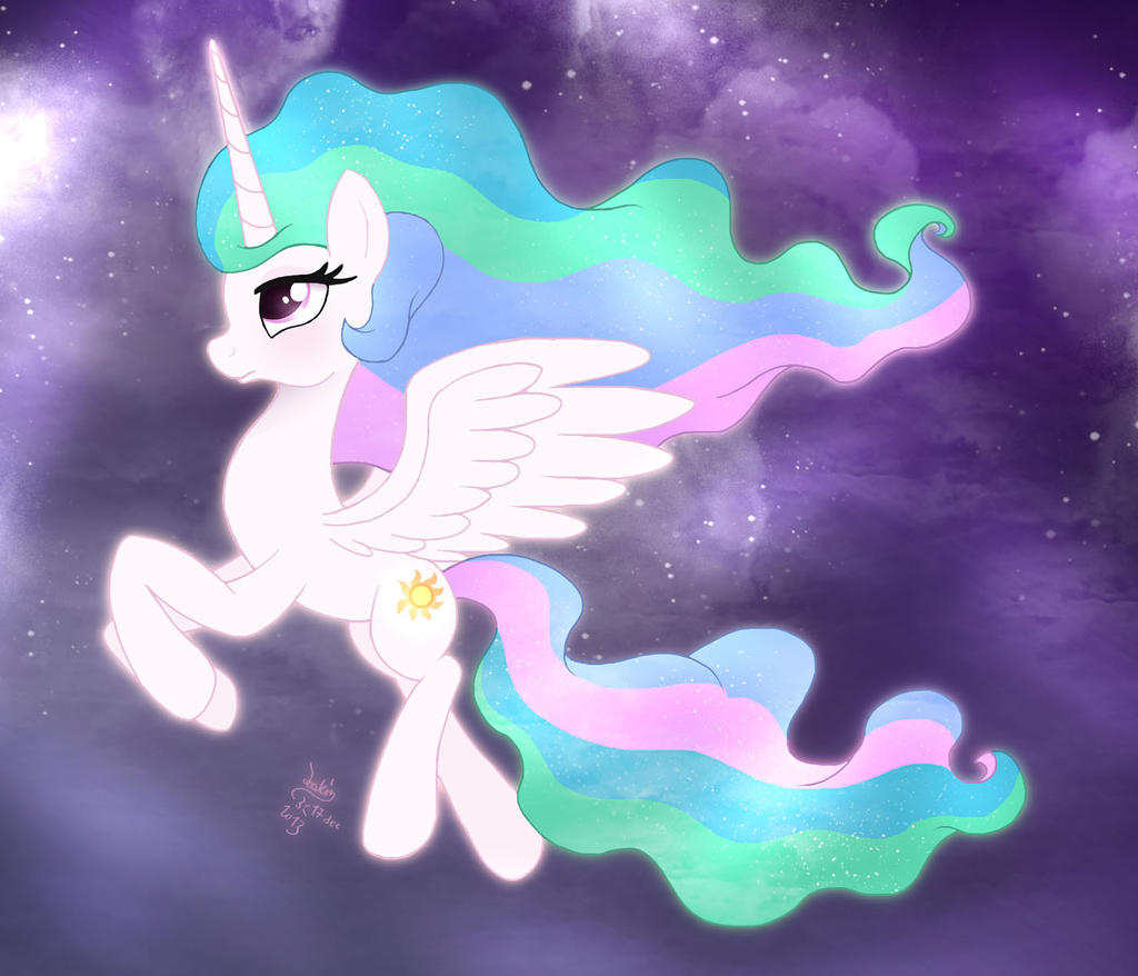MLP FIM - Princess Celestia's Night Round