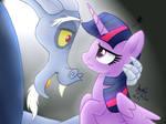MLP FIM - Discord And Twilight Dance