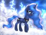 MLP FIM - Princess Luna Thunder Clouds