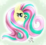 MLP FIM - Fluttershy Rainbow Power
