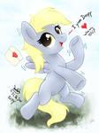 MLP FIM - Little Cute Derpy Can Fly