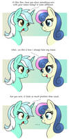 MLP FIM comic - Sweet Lyra And Bon Bon