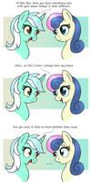 MLP FIM comic - Sweet Lyra And Bon Bon