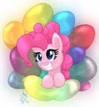 MLP FIM - Pinkie Pies Balloons