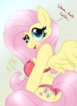 MLP FIM - Cute Anthro Fluttershy