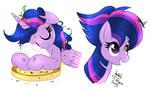 MLP FIM - Twilight Sparkle Cute Mane