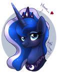 MLP FIM - Princess Luna Portrait