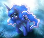 MLP FIM - Beautiful Princess Luna Night Walk