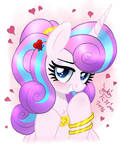 MLP FIM - Adult Princess Flurry Heart Smirk