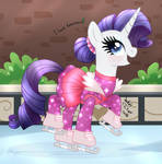 MLP FIM - Ice Princess Rarity Day