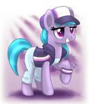 MLP FIM - Dance Pony Azure Velour