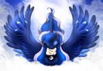 MLP FIM - Princess Luna Magic Wings V 2