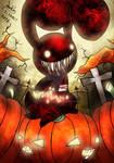Blood bunny - Halloween Night 2016