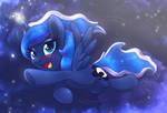 MLP FIM - Happy Little Luna In The First Dream