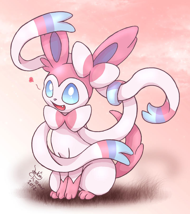 Pokemon - Sylveon by Joakaha on DeviantArt