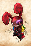 Blood bunny - Happy Easter 2017