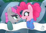 MLP FIM - Pinkie Pie Annoy Maud