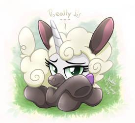 MLP FIM - Sweetie Belle Sheep by Joakaha