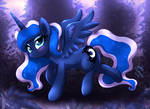 MLP FIM - Princess Luna Who Is There