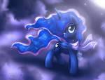 MLP FIM - Beautiful Luna In The Night Sky