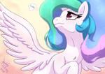 MLP FIM - Princess Celestia Thinking About Luna