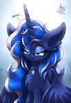 MLP FIM - Heavenly Fluffy Luna