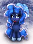MLP FIM - Happy Filly Christmas Princess Luna