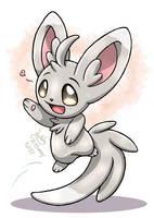 Pokemon - Minccino by Joakaha